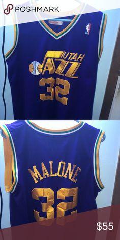 Mitchell   ness Karl Malone hardwood classic Purple Karl Malone hardwood  classic jersey Mitchell   Ness 1f44dce8f