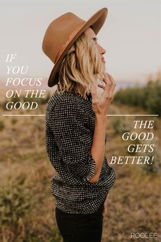 If you focus on the good, the good gets better. Inspirational and Motivational quotes. | ROOLEE