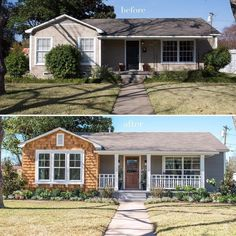 Fixer Upper Loved this cute little bungalow, great remodel, inside and out!