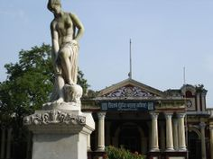 Statue in Mymensingh Palace