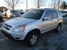 2004 HONDA CRV – AWD * LEATHER * HEATED SEATS * SUNROOF (HWY 7 * HWY 50) $4800