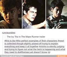 The maze runner / iFunny :). I have been dying to read this series for like ever but alas I'm broke