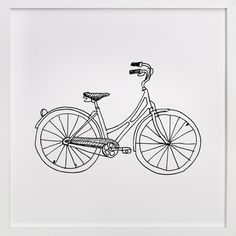 bicycle by Phrosne Ras at minted.com
