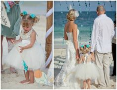 The Ivory Milana Flower Girl Dress!