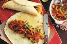 Tex-Mex omelette wraps recipe