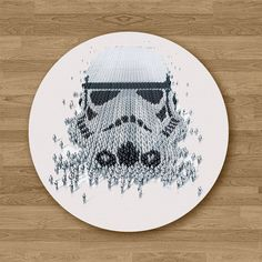Stormtrooper Mousepad Mouse Pad Office Desk Accessories Gift Sister Women Gift for Her Womens Mouse Pad Round Mouse Pad Cute Mouse Pad