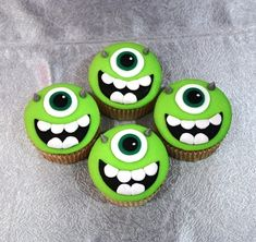 monsters inc cupcakes 2
