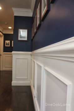 Paint is symphony blue by Benjamin Moore.