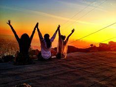<3 #befree #sunset