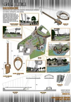 Louise Burns: Architectural Presentation Board Examples