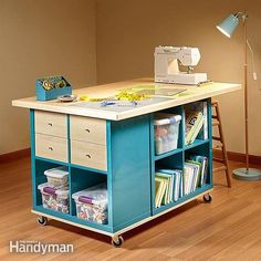 Ikea Kallax Hack: Craft Room Storage | Extra Space Storage Ideas | Make Your Space Work For You