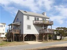 Come and enjoy this comfortable South Nags Head home that boasts both Ocean and Sound views. This Oceanside home is conveniently located just 300 ft ...