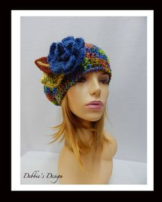 REDUCED Women's Hat- 325 Women, Handmade, cloche, OOAK, Hat, Hair, Embellished, Accessories, Clothing, Gifts, Teens, millinery, by DebbiesDesign on Etsy