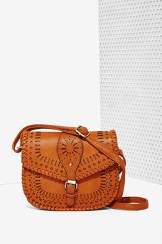 Saddle Bags Are Fall 2015's Hottest Handbag - Get In the Saddle Crossbody Bag, $65, at nastygal.com