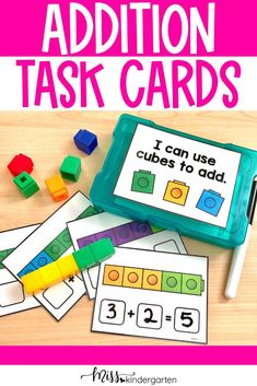 Addition Task Cards and Fun Ways to Teach Addition