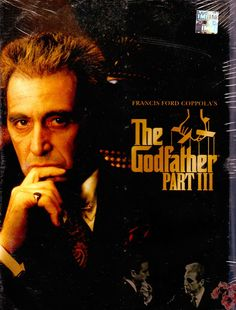Godfather III - In the midst of trying to legitimize his business dealings in 1979 New York and Italy, aging mafia don Michael Corleone seeks to vow for his sins while taking a young protégé under his wing. Director: Francis Ford Coppola Writers: Mario Puzo, Francis Ford Coppola Stars: Al Pacino, Diane Keaton, Andy Garcia