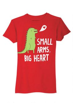 Gemma Correll Small Arms Big Heart Tee at Delia*s
