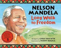Nelson Mandela: Long Walk to Freedom. The abridged, children's version of his autobiography plus lesson plans, pre/post reading questions, and additional activities to learn about Nelson Mandela for kids. Reading Lessons, Reading Resources, Teaching Reading, Nelson Mandela For Kids, Nelson Mandela Book, Nelson Mandela Biography, Autobiographies For Kids, Education And Literacy, Readers Workshop