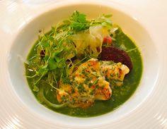 Savoury porridge, at Dinner by Heston Blumenthal