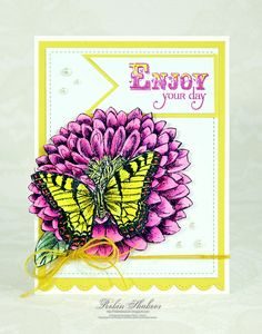 Use Copic markers to color in stamped images on cards for a beautiful effect!