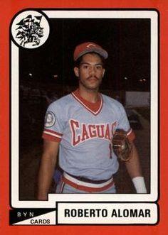 1988-89 BYN Puerto Rico Winter League #34 Roberto Alomar Front