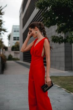 Look inivitada : sexy jumpsuit | Invitada Perfecta