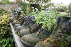 O que fazer com aquelas botas velhas? De Tuinen van Appeltern