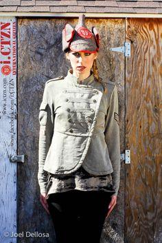 #internationalcitizen #fashion www.ictzn.com Military Inspired Fashion, Fashion Labels, Citizen, Military Jacket, Fashion Women, My Style, Jackets, Inspiration, Collection
