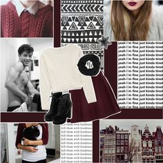 """young and restless."" by brunette-princess on Polyvore ♥"