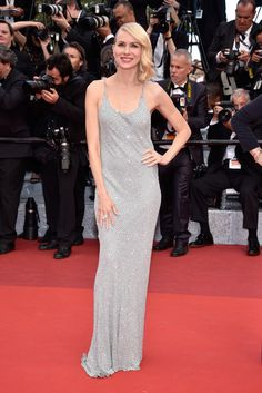 """Australian actress Naomi Watts attends the """"Money Monster"""" premiere during the 69th annual Cannes Film Festival at the Palais des Festivals on May 12, 2016 in Cannes, France."""