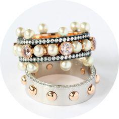 Two 'Crown' rings by Nadia Morganthaler