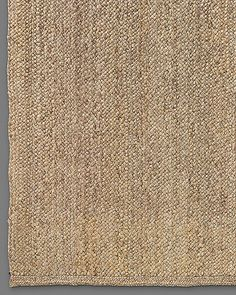 Chunky Braided Jute Rug - Linen // 12x15 Great Room