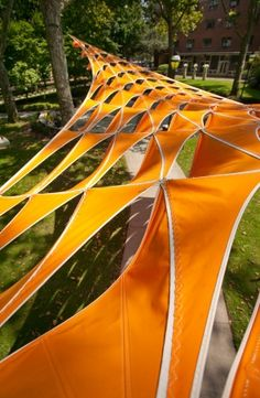 Light canopy: Students and teacher explore the possibilities of CNC-driven fabrication