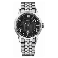 Hugo Boss men's stainless steel bracelet watch - Product number 8376646