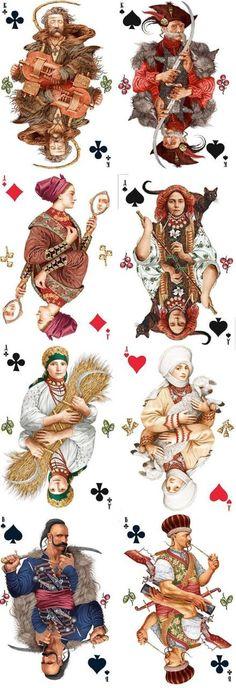 playing cards by Vladslav Erko  ~1eyeJACK~