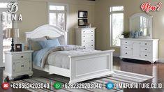 New Desain Kamar Set Minimalis Jepara White Duco Epic Mebel Jepara TTJ-0917