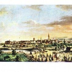 Carti Postale Romania dupa 1918 - Carte postala ilustrata Vedere generala a orasului Sibiu(1808)