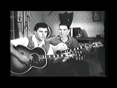 Ricky Nelson and James Burton Playing Acoustic Guitar 50s Music, Music Mix, Good Music, Eric Nelson, James Burton, 50s Rock And Roll, Jackie Gleason, Guitar Youtube, Inspirational Music