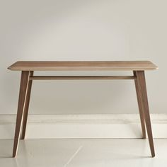 Angle Table Small Walnut  £210