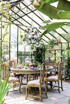 38 Handsome Winter Garden Design Ideas To Inspire You - Page 22 of 38 , garden architecture 38 Handsome Winter Garden Design Ideas To Inspire You - Page 22 of 38 , Conservatory Garden, Conservatory Interiors, Conservatory Dining Room, Conservatory Design, Gazebos, Casa Patio, Winter Garden, Outdoor Dining, Dining Table