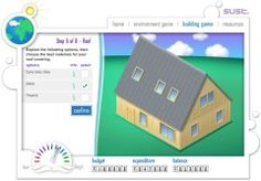 A great environment sustainability flash resource. Build an eco house and locate resources.
