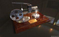 The Stirling engine by gmlabartandsounds on DeviantArt