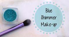 Sophie's Spot: Blue Shimmer Make-up Look