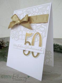 Kreativ Blog by Claudi: Florale Fantasie zur Goldenen Hochzeit