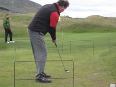 Some gates at the Strandhill Golf greens 2009