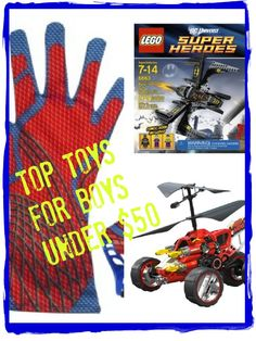 5 SurefireToys for Your Boy. And They're All Under $50 (also a giveaway!) #spon