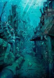 Underwater City Concept Art Szukaj W Google Underwater City Art Concept Art