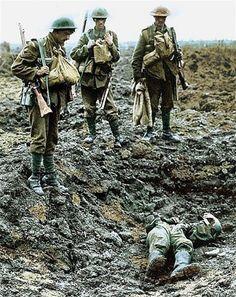 Fotografías coloreadas de la I Guerra Mundial para revivir la historia   Cultura Colectiva - Cultura Colectiva