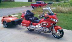 2002 Honda GL1800 Touring , Pearl Orange, 105,602 miles for sale in Dalton, GA