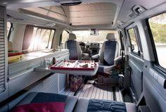 QUICK RENT Exclusive Mercedes VIANO Marco Polo interior
